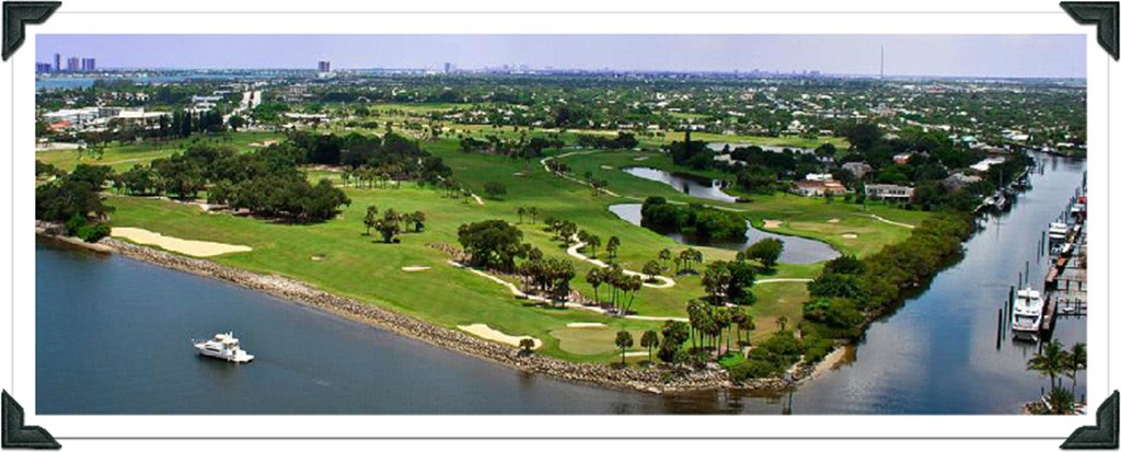 Aerial Of North Palm Beach Country Club